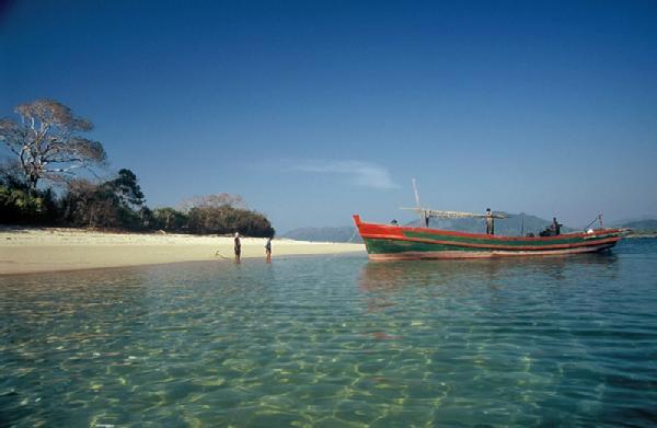 Những bãi biển đẹp nhất Myanmar