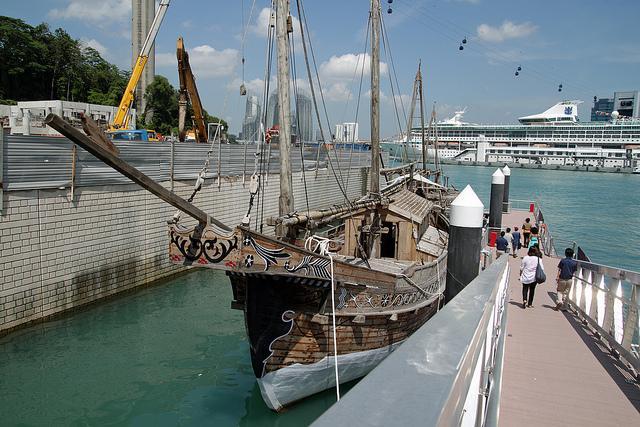 Khám phá bảo tàng hàng hải của Singapore