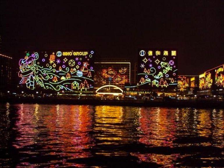 Đêm lung linh ở Hong Kong
