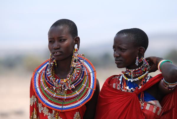 Nét độc đáo của người Masai ở Kenya