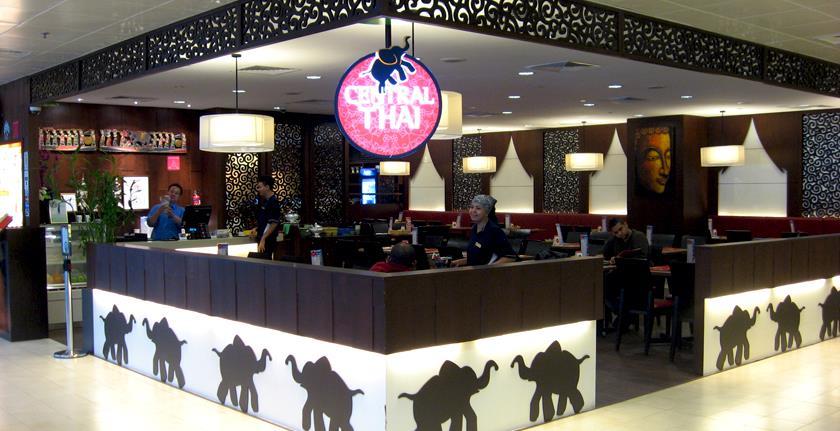 Những nhà hàng nổi tiếng tại sân bay Changi