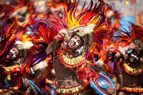 Tưng bừng lễ hội Sinulog ở Philippines