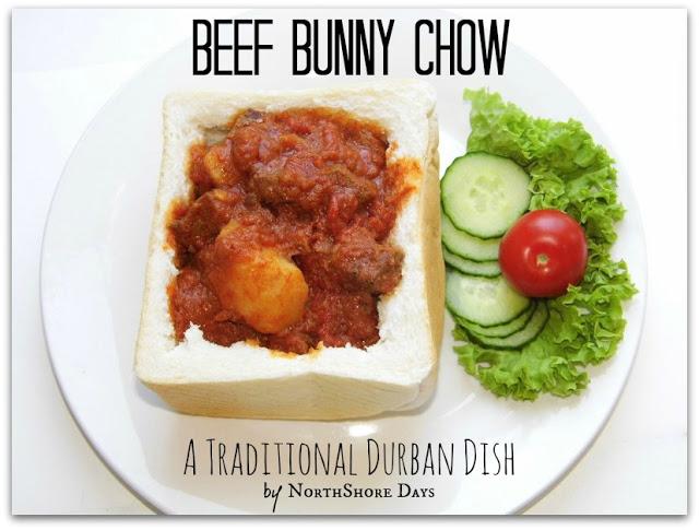 Hương sắc Nam Phi trong cà ri Bunny chow