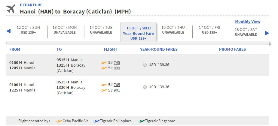 Mua vé máy bay đi Philippines giá rẻ