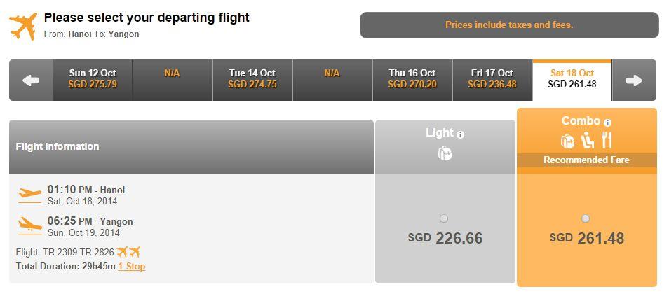 Mua vé máy bay đi Yangon giá rẻ ở đâu