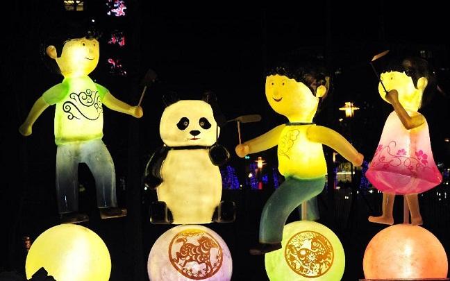 Đến Trung Quốc tham dự lễ hội đèn lồng