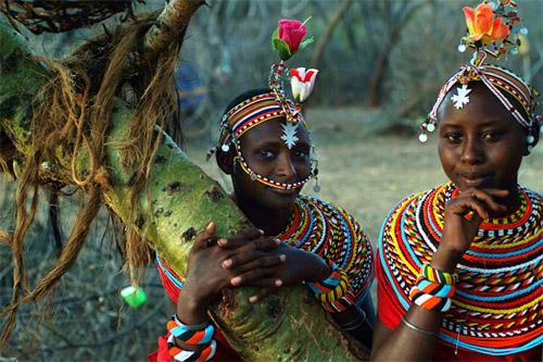 Nghi lễ cầu hôn độc đáo ở Kenya