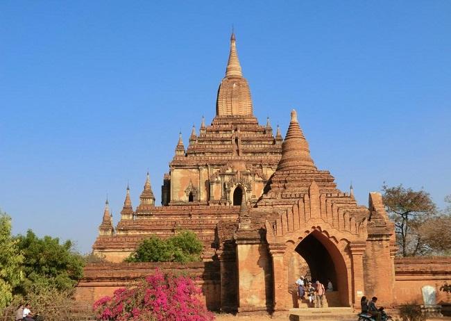 Kiến trúc độc đáo của 1 ngôi đền ở Bangan