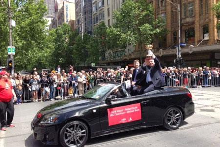 lễ hội đường phố tại Melbourne