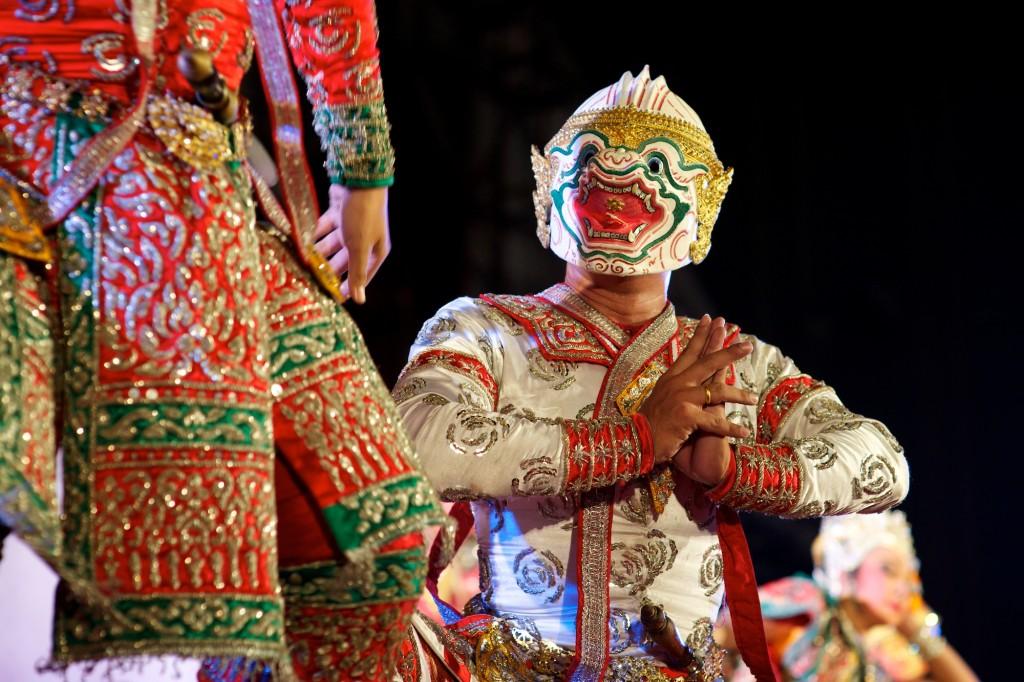 mặt nạ trang trí Indonesia