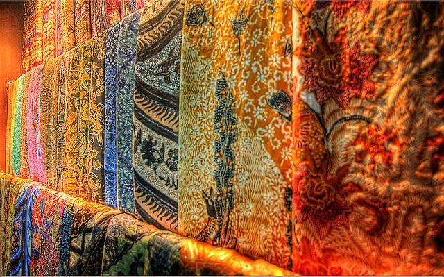 vải batik truyền thống