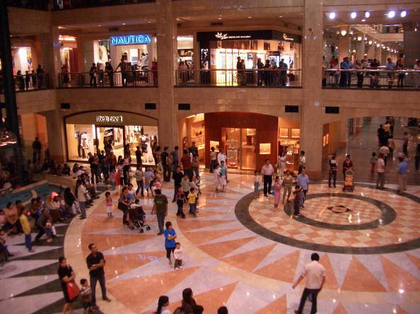 trung tâm mua sắm tại Jakarta