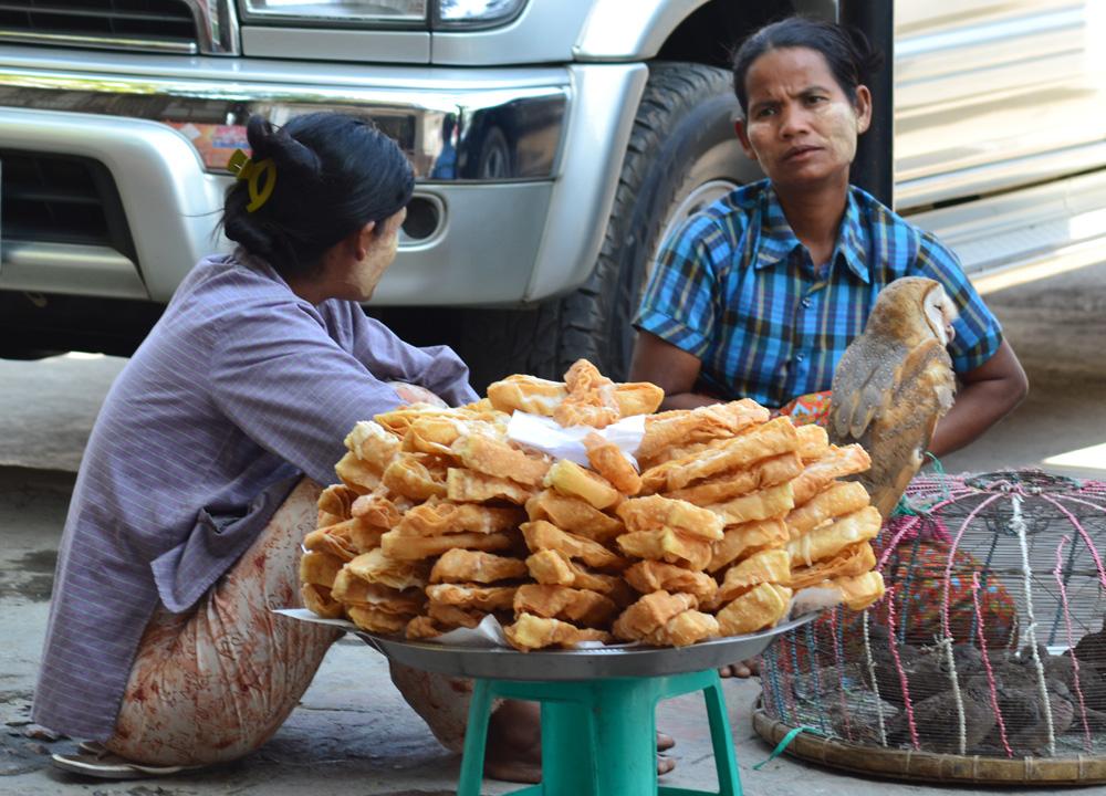 đồ chiên Myanmar
