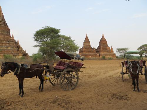 hành trình di chuyển ở Myanmar