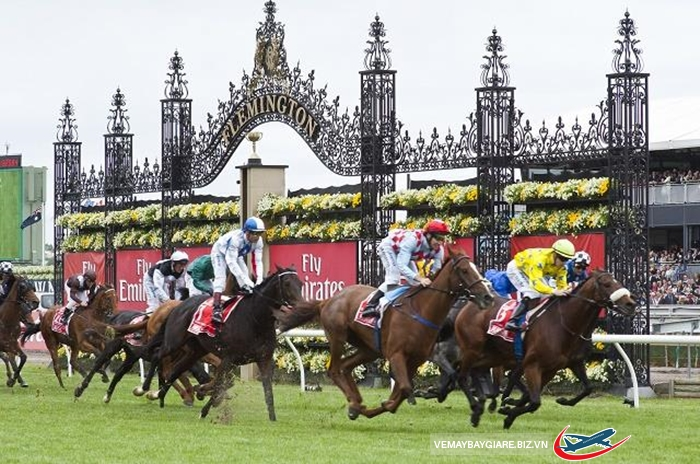 Lễ hội đua ngựa mùa xuân ở Melbourne