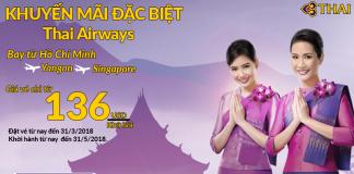 Vé máy bay giá rẻ của Thai Airways
