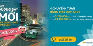 Đặt vé khứ hồi Nha Trang đi Seoul giá rẻ - Vietnam Airlines