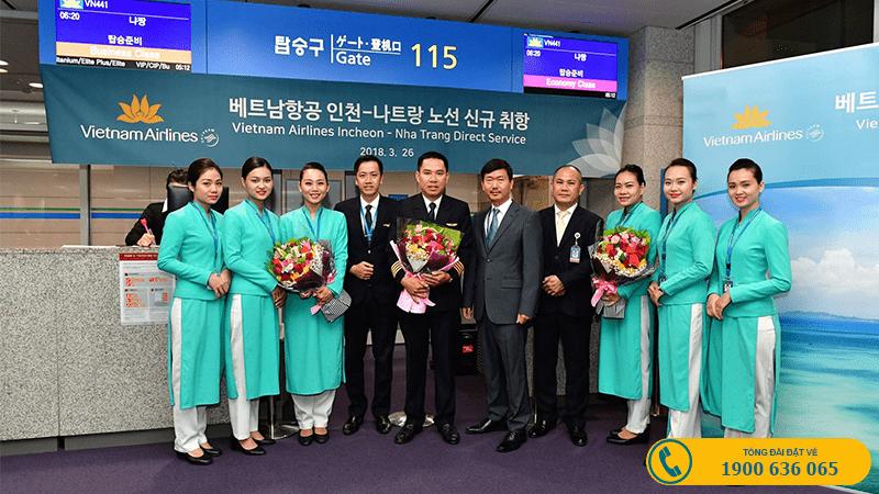 Vietnam Airlines mở đường bay mới: Cam Ranh - Incheon