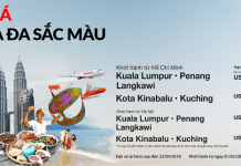Đặt vé máy bay đi Malaysia giá rẻ