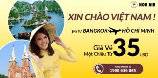 Chương trình khuyến mại chào hè của Nok Air