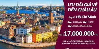 Qatar Airways mở bán vé khứ hồi từ 17 triệu đồng