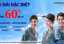 Chương trình khuyến mại hãng Malaysia Airlines