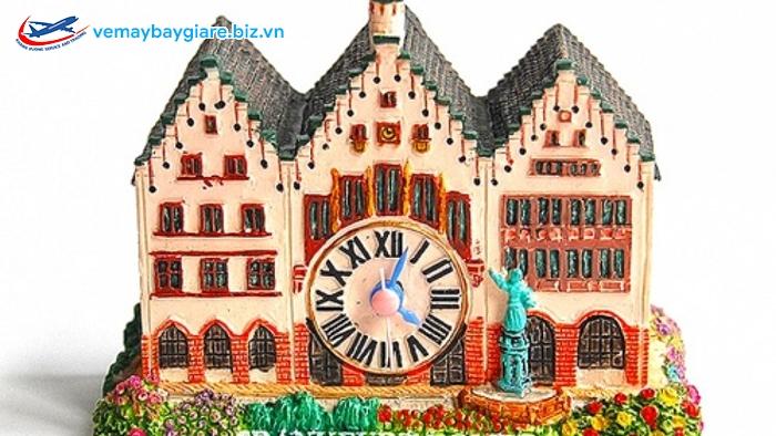 Hình ảnh trên huy hiệu 3D Magnet Frankfurt