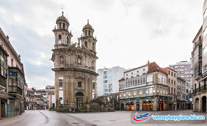 Pontevedra là thành phố không động cơ,