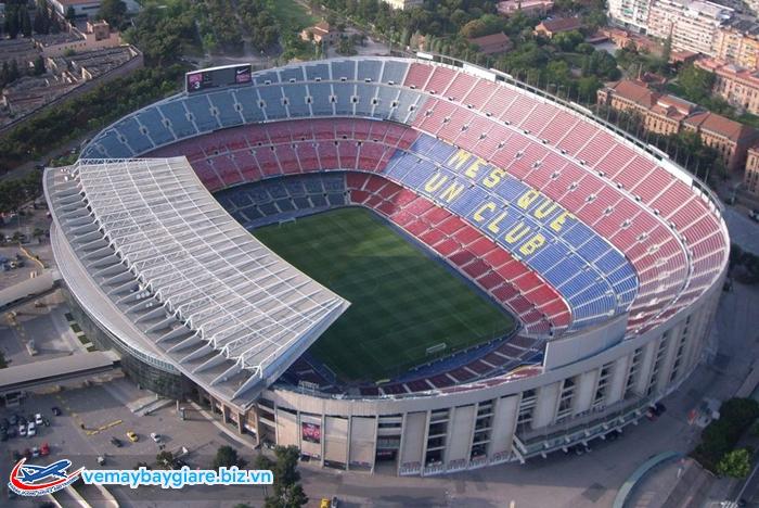 Nou Camp - sân vận động lớn nhất Châu Âu
