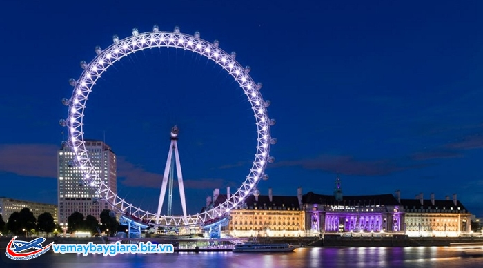 """""""Mắt thần London"""" - một trong những vòng quay lớn nhất thế giới"""