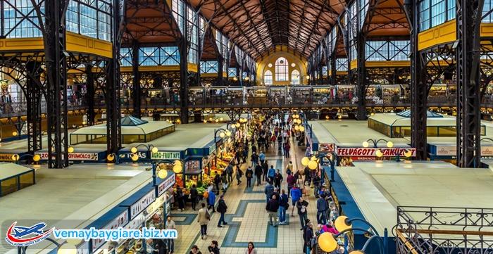 Great Market Hall cực kì rộng rãi