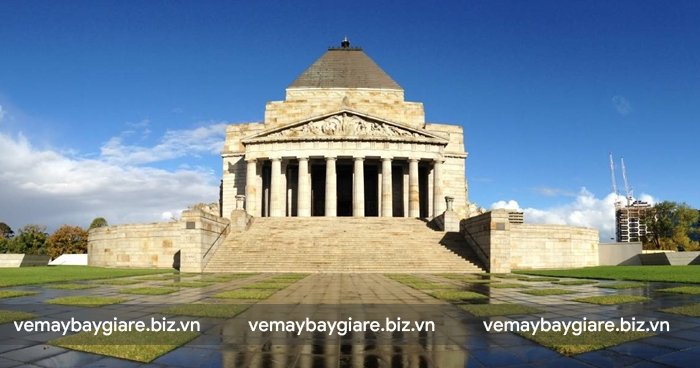 Đài tưởng niệm Melbourne - biểu tượng của thành phố