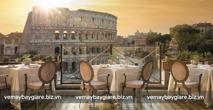 View tuyệt vời ở Hotel Palazzo Manfredi - Relais & Chateaux