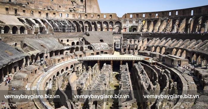 Bên trong di sản thế giới - đấu trường Colosseum