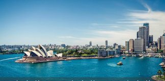 Thành phố Sydney rất đẹp