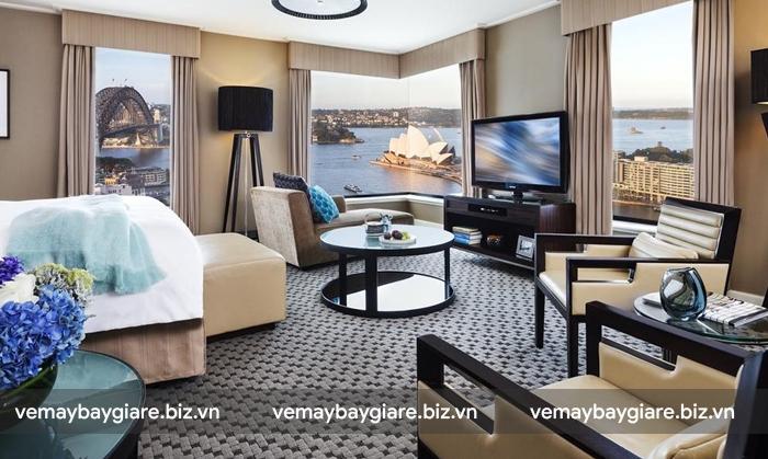 Four Seasons Hotel Sydney có view cực kì đắt giá