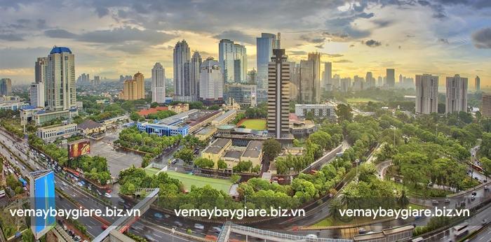 Thủ đô Jakarta xinh đẹp