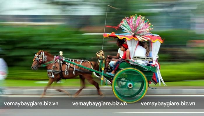 Xe ngựa là phương tiện đi lại thú vị ở Jakarta