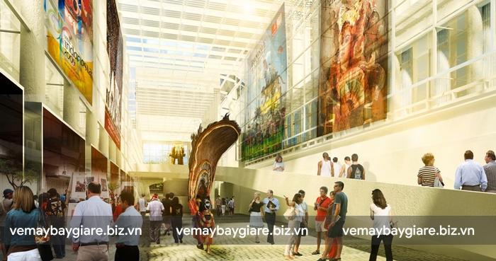Bảo tàng Nasional cực kì thu hút khách du lịch