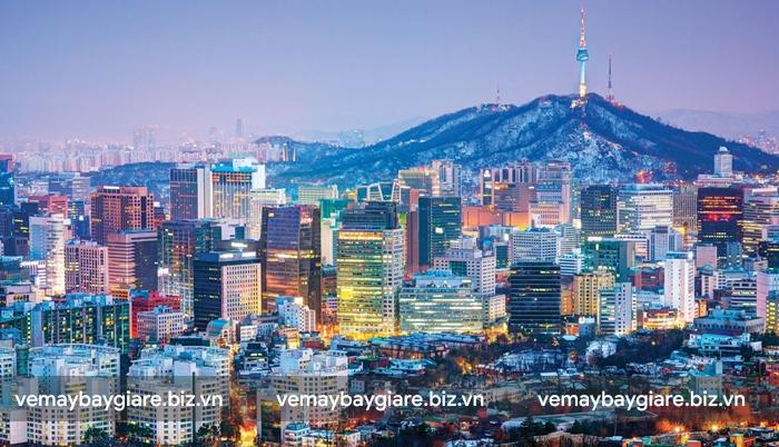 Thủ đô Seoul lung linh khi về đêm